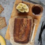 Banánový chléb s hnědým máslem