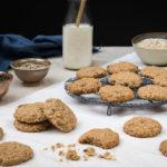 Ovesné sušenky se semínky