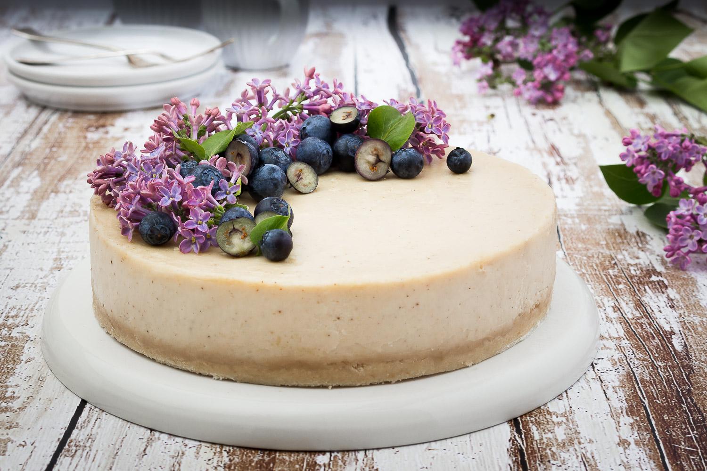 veganský cheesecake