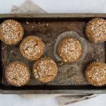 Kokosové muffiny s kešu