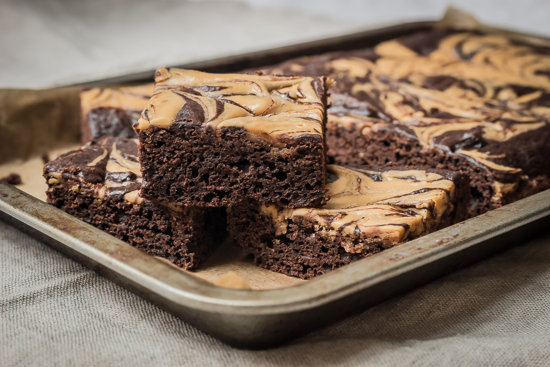 veganské brownies